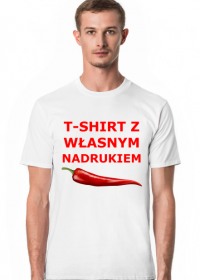 T-shirt z własnym nadrukiem