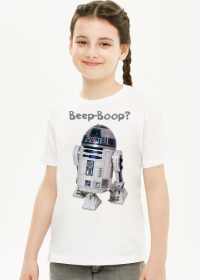 R2-D2 Star Wars Koszulka Dziewczęca