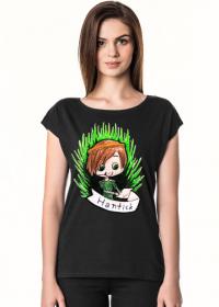 HantickArt koszulka damska z owalnym dekoltem