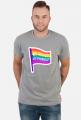 Koszulka flaga gejowska