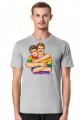 Koszulka 2 gejów - Moda na LGBT