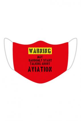 Maseczka ochronna lotnicza. Prezent dla pilota, prezent dla lotnika.Gadżety, bluzy koszulki dla pilotów. Lotnicze ubrania. Jak zostać pilotem? Pilotaż szybowcowy. Modelarstwo.