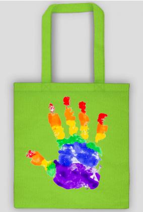 LGBT torba dłoń