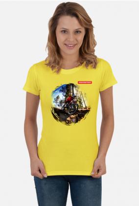 """Koszulka Rowerzystki """"MTB Biker v2"""""""