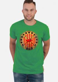 "Koszulka męska ""Dywizjon 303"" zielona"