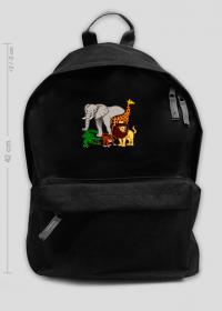 Duży plecak szkolny Zoo
