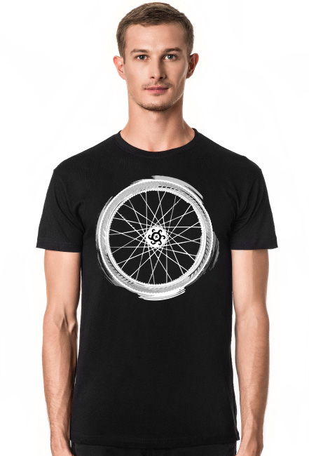 Bike Mandala T Dark Boy