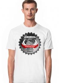 """Koszulka Męska """"Rowerowy Świat"""""""
