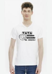 Koszulka męska - Tata zawsze pozwala na więcej