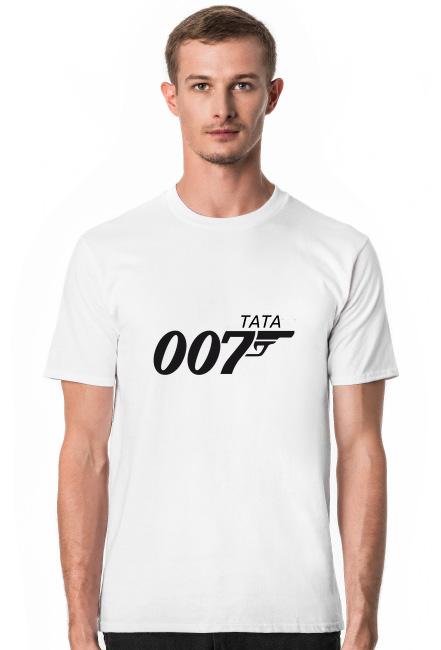 Koszulka Męska Tata 007