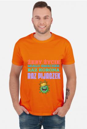 KORONA I PIJACZEK - koszulka męska