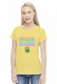 KORONA I PIJACZEK - koszulka damska