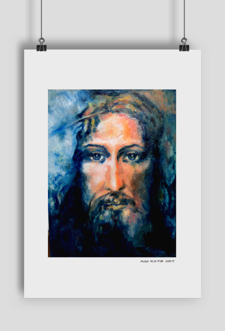 Reprodukcja obrazu Oblicze Jezusa