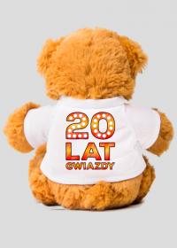 Maskotka Miś Urodzinowy - 20 lat