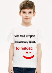 koszulka-forsa to nie wszystko, prawdziwy skarb to miłość