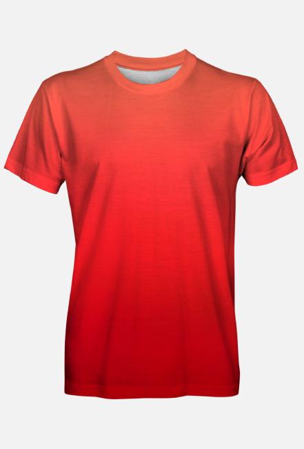 koszulka po prostu czerwona