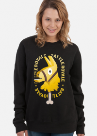 Bluza - Złota Lama Fortnite