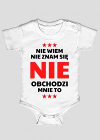 Body niemowlęce - Nie Wiem, Nie Znam Się...