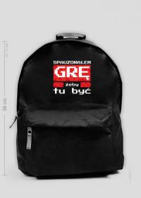 Mały czarny plecak dla Gracza - Spauzowałem Grę...