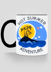 Kubek kolor na lato i wakacje - Hot Summer Adventure
