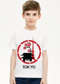 Koszulka krótka chłopięca - Tokyo