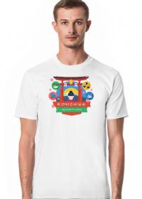 Koszulka krótka męska - Kon'nichiwa