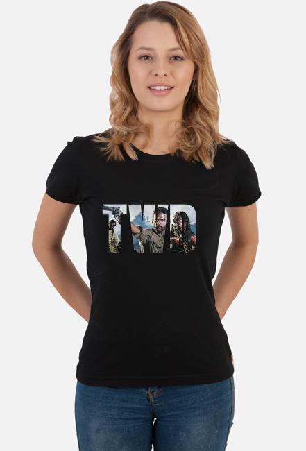 TWD koszulka damska