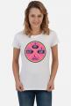 Koszulka damska Eat Sleep Surf Repeat biała
