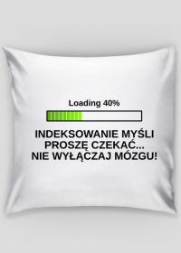 Poszewka na poduszkę Jasia - Indeksowanie Myśli