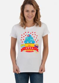 Ewka Fajna Babka - Koszulka damska z imieniem