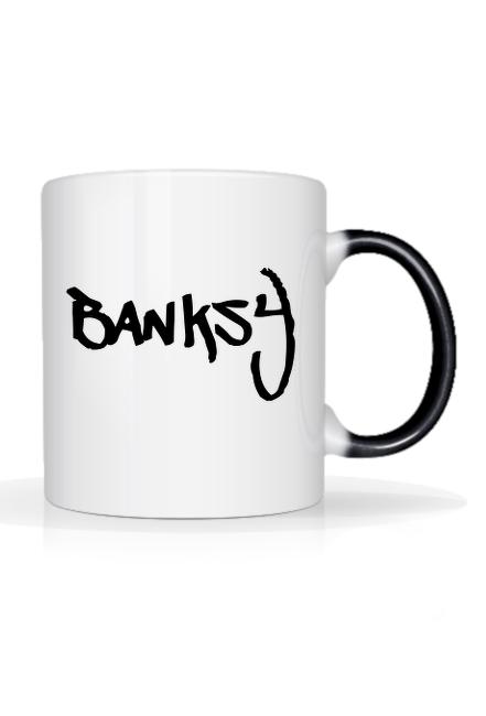 Magiczny kubek Think Tank Banksy