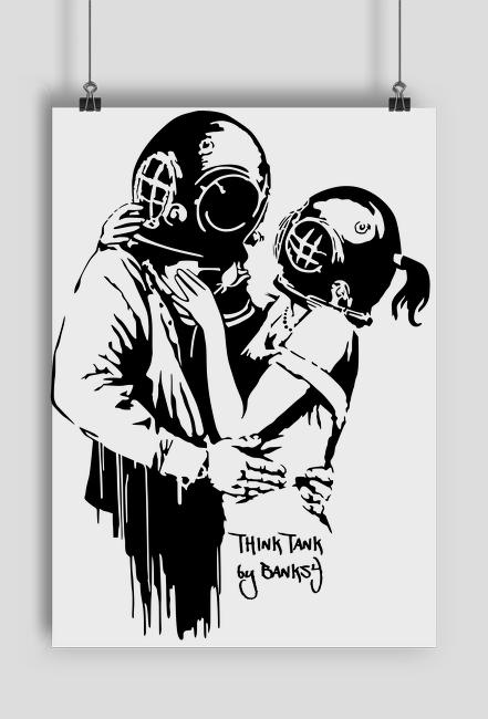 Plakat Think Tank Banksy A1