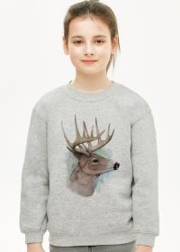 Bluza dziewczęca Jeleń