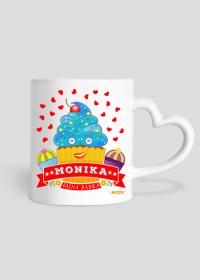 Monika Fajna Babka - Kubek z sercem i imieniem