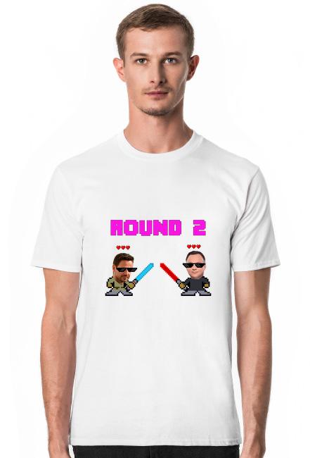ROUND 2 - DRUGA TURA WYBORÓW koszulka męska kolor biały