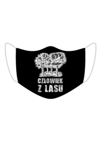 Człowiek z Lasu - Maska ochronna czarna