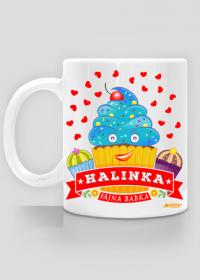 Halinka Fajna Babka - Kubek biały z imieniem