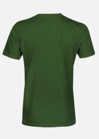 Człowiek z Lasu - Koszulka fullprint ciemnozielona