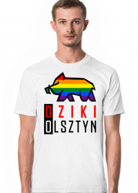 Dzika Koszulka Tęczowa