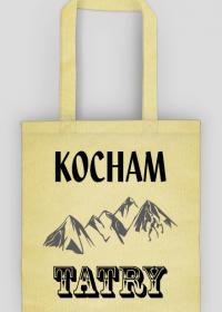Kocham Tatry - torba z nadrukiem dla kochających góry