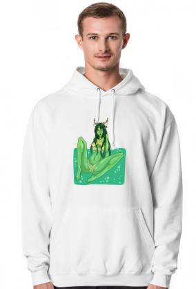 Rusałka bluza męska z kapturem