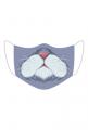 Kot - Śmieszna maseczka na twarz