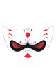 Śmieszna maseczka na twarz - Kabuki