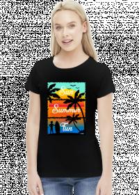Sun Summer Fun - Damska koszulka