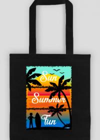 Sun Summer Fun - Torba na zakupy