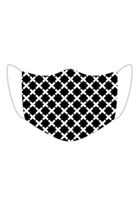 Maska na twarz z wzorkiem