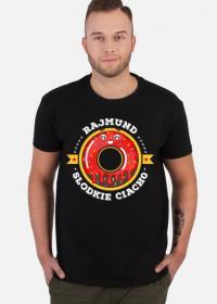 Rajmund Słodkie Ciacho - Koszulka męska czarna