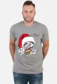 Let i slow - koszulka świąteczna z leniwcem