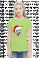 koszulka świąteczna z leniwcem - let it slow