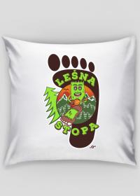 Leśna Stopa - Poszewka dekoracyjna na poduszkę Jaśka